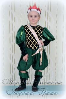 костюм короля для мальчика карнавальный фото