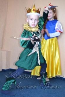 костюм короля для мальчика фото с принцессой