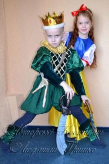 костюм короля для мальчика новогодний фото
