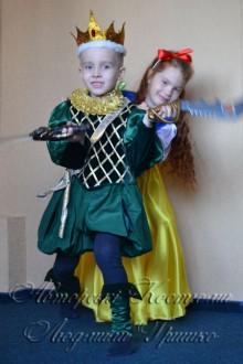 костюм короля для мальчика фото в короне