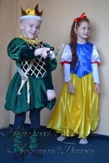 костюм короля для мальчика фото с белоснежкой