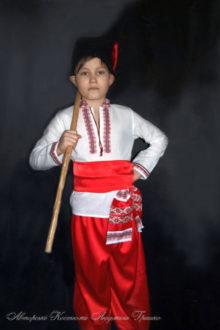 костюм козака в красных шароварах фото