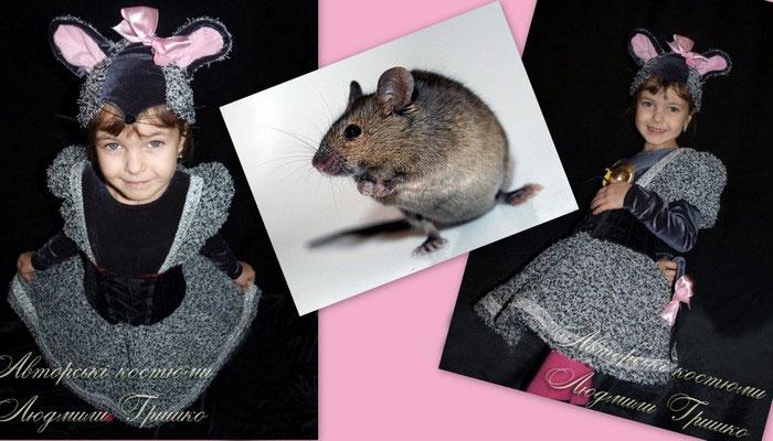 костюм мышки фото коллаж