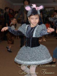 костюм мышки фото в детском саду