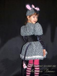 костюм мышки платье с хвостиком фото