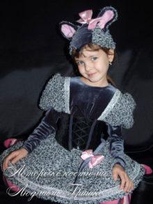 авторский костюм мышки для девочки фото