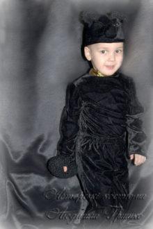 костюм собачки черной фото