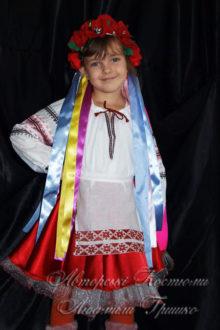 костюм украинки детский фото 542