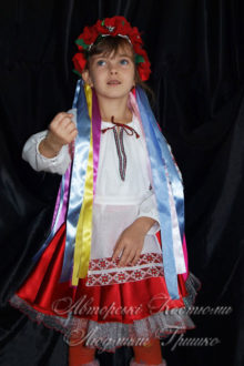 костюм украинки детский фото 543