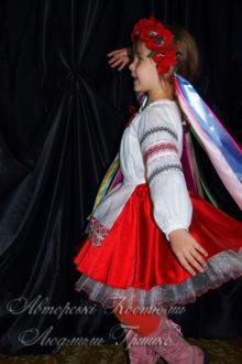 костюм украинки фото вид сбоку