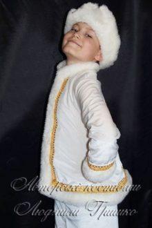 фото авторского карнавального костюма новый год