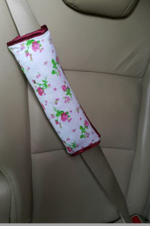 подушка на ремень безопасности из хлопка фото