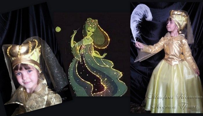 костюм феи для девочки фото коллаж