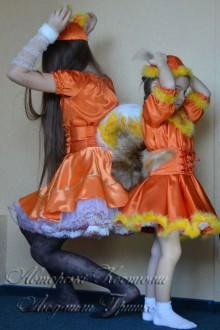 карнавальный костюм белки и белочки фото