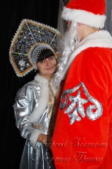 костюм деда мороза фото аппликация на рукаве