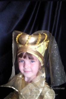 костюм феи фото головного убора с фатой