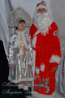 костюм деда мороза взрослый фото со снегурочкой