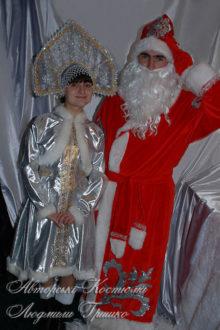 костюм деда мороза новогодний фото со снегурочкой