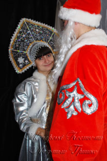 фото костюмы деда мороза и снегурочки на новый год