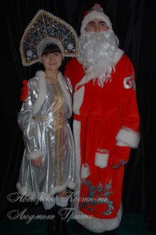 костюм деда мороза карнавальный фото со снегурочкой