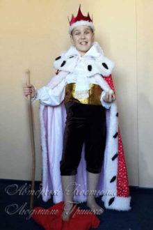 костюм короля для мальчика фото в мантии