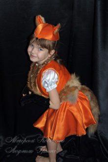 новогодний костюм лисички фото