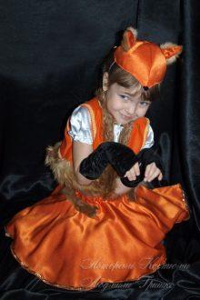 карнавальный костюм лисички фото