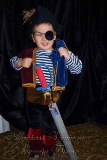 фото детского костюма разбойника пирата для мальчика