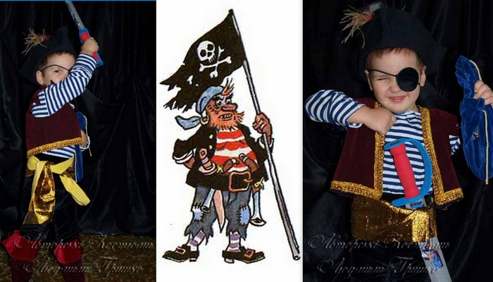 robber pirate costume_k1