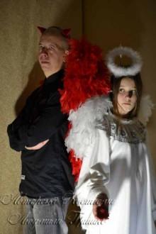 карнавальные костюмы ангела и демона фото