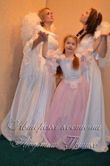 фото карнавальных костюмов - три ангела