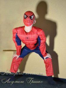 костюм спайдермена для мальчика фото