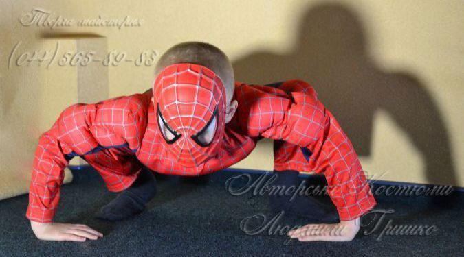 костюм спайдермена фото