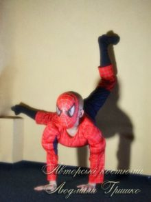 маскарадный костюм спайдермена фото