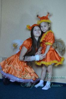 карнавальные костюмы белочек фото