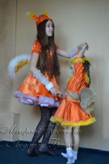 костюмы белочек карнавальные фото