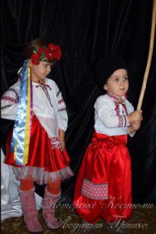 украинские народные костюмы для мальчика и девочки фото