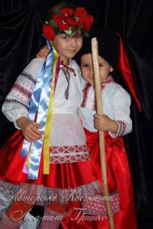 фото украинских народных детских костюмов фото