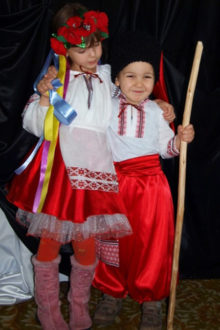 народные украинские костюмы фото