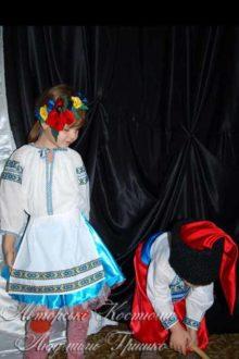 фото украинские костюмы для девочки и мальчика