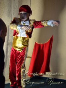 костюм тореадора для мальчика новогодний фото