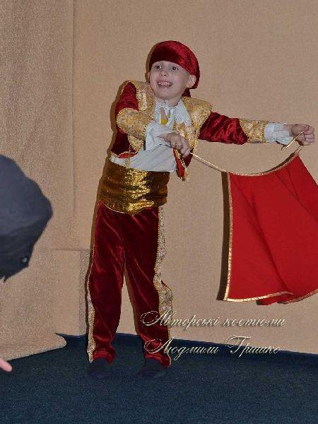 карнавальный костюм тореадор фото