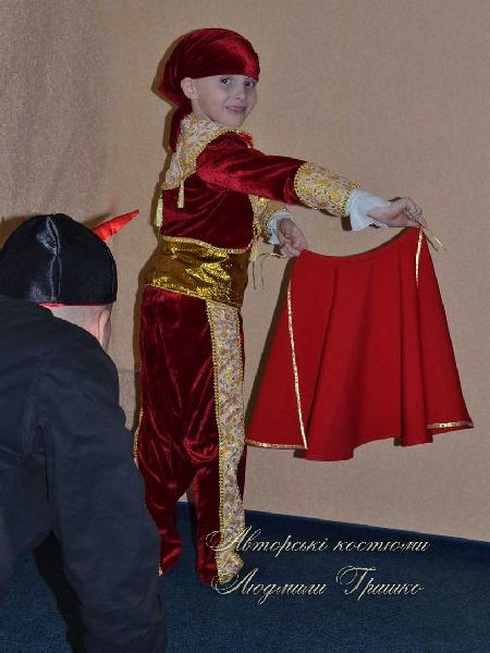 маскарадный костюм тореадор фото