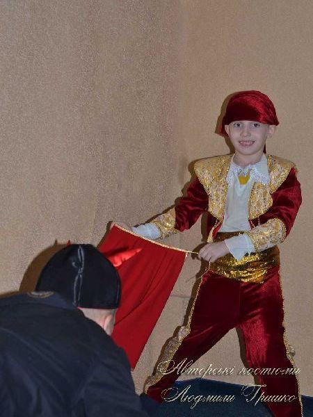 костюм тореадора карнавальный детский фото