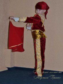 костюм тореадора новогодний для мальчика фото