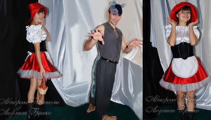 костюм красной шапочки и волка взрослые фото