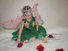 костюм дюймовочки с крыльями для девочки на праздник фото