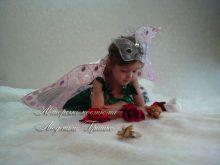 костюм дюймовочки с крыльями для девочки фото