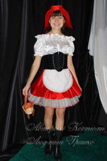 костюм красной шапочки взрослый фото с корзинкой