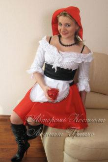 костюм красной шапочки женский фото